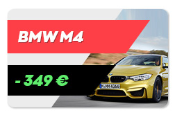 Rent a BMW M4 Nürburgring